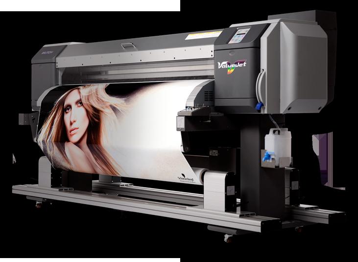 Ecosolventní velkoformátová tiskárna