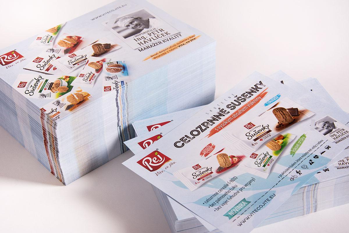Letáky - tisk a grafický návrh