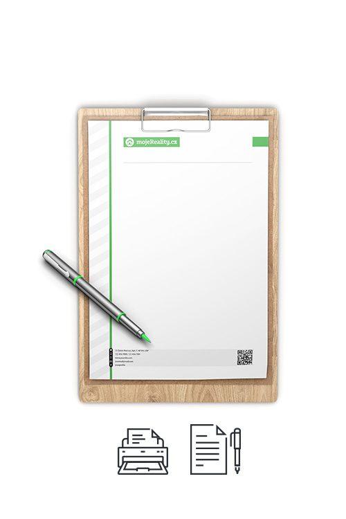 Tisk - hlavičkový firemní papír