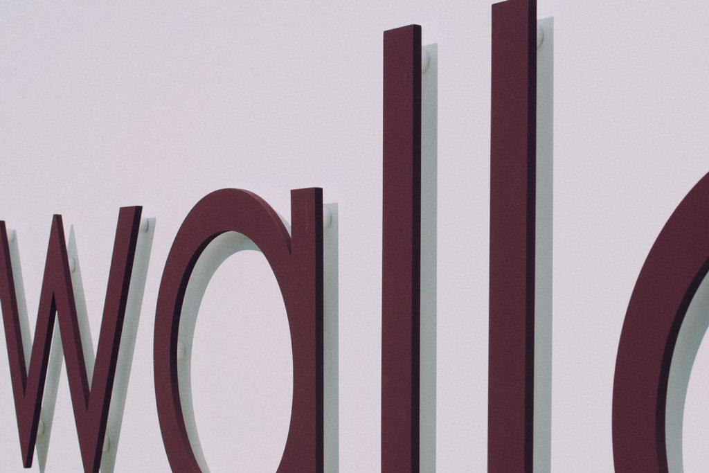 3d nápisy a loga - výroba a instalace