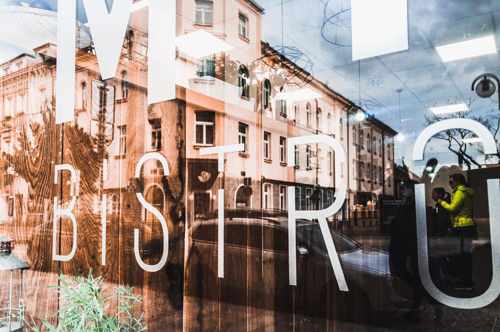 2019_mybistro - branding řezaná folie